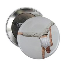 Yoga pose - 2.25' Button (10 pack)