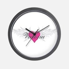Victoria-angel-wings.png Wall Clock