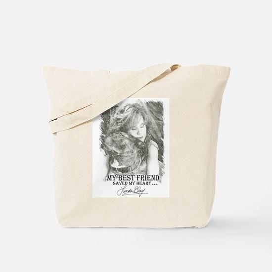LBWF Best Friends Tshirt Tote Bag
