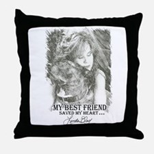 LBWF Best Friends Tshirt Throw Pillow