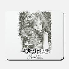 LBWF Best Friends Tshirt Mousepad