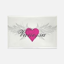 Vanessa-angel-wings.png Rectangle Magnet