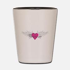 Vanessa-angel-wings.png Shot Glass