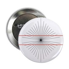 Hering illusion - 2.25' Button (10 pack)