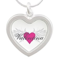 Valentina-angel-wings.png Silver Heart Necklace
