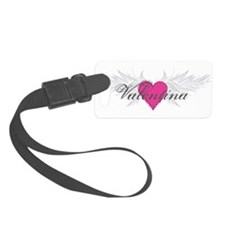 Valentina-angel-wings.png Luggage Tag