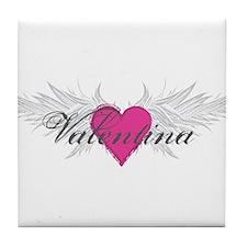 Valentina-angel-wings.png Tile Coaster