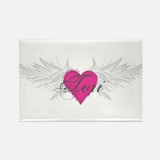 Tori-angel-wings.png Rectangle Magnet