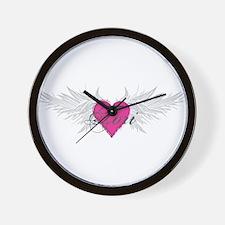 Tori-angel-wings.png Wall Clock