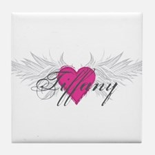 Tiffany-angel-wings.png Tile Coaster