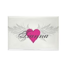 Tianna-angel-wings.png Rectangle Magnet