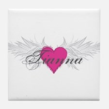 Tianna-angel-wings.png Tile Coaster