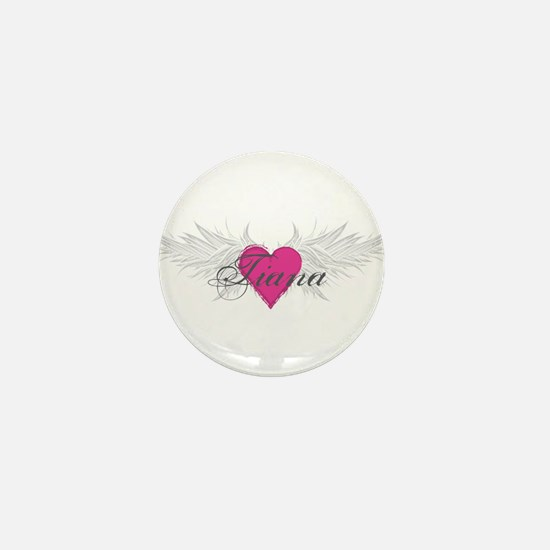 Tiana-angel-wings.png Mini Button