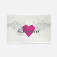 Tiana-angel-wings.png Rectangle Magnet