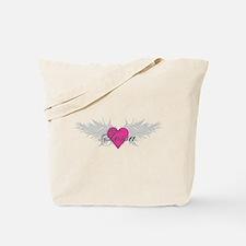 Tessa-angel-wings.png Tote Bag