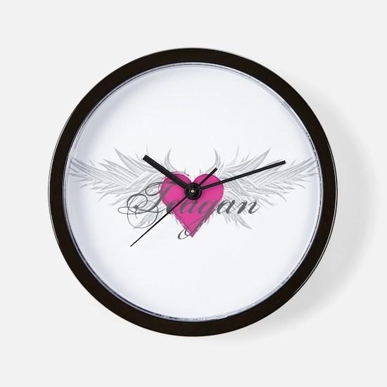 Teagan-angel-wings.png Wall Clock