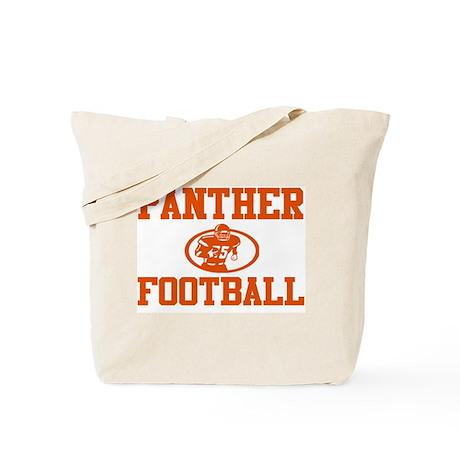 """PANTHER """"ROCKET"""" ORANGE Tote Bag"""