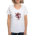Lion - Cumming Women's V-Neck T-Shirt