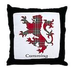 Lion - Cumming Throw Pillow