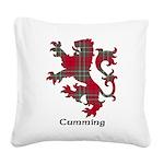 Lion - Cumming Square Canvas Pillow