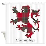 Lion - Cumming Shower Curtain