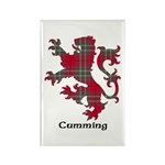 Lion - Cumming Rectangle Magnet (10 pack)