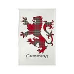 Lion - Cumming Rectangle Magnet (100 pack)