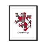 Lion - Cumming Framed Panel Print