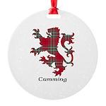Lion - Cumming Round Ornament
