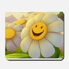 Smiling Daisy Mousepad