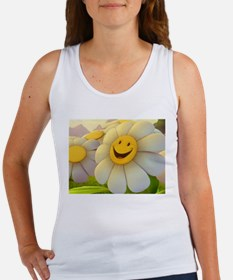 Smiling Daisy Women's Tank Top