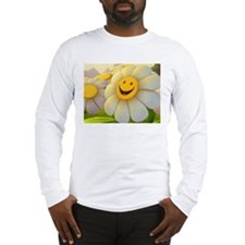 Smiling Daisy Long Sleeve T-Shirt