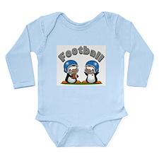 Football Penguin (T) Long Sleeve Infant Bodysuit