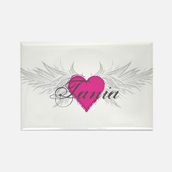Tania-angel-wings.png Rectangle Magnet