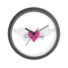 Tania-angel-wings.png Wall Clock