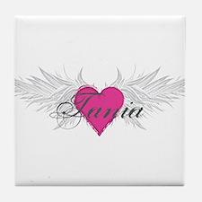 Tania-angel-wings.png Tile Coaster