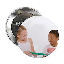 Learning dental hygiene - 2.25' Button (100 pack)