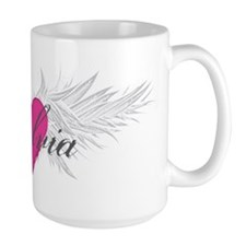 Sylvia-angel-wings.png Ceramic Mugs