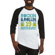 18th Birthday Rock N Roll Baseball Jersey