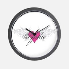 Sophie-angel-wings.png Wall Clock
