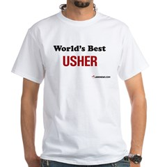 World's Best Usher Shirt