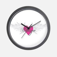 Skye-angel-wings.png Wall Clock
