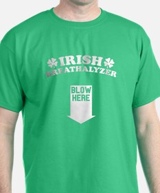 Funny! IRISH Breathalyzer! T-Shirt