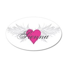 Sienna-angel-wings.png 20x12 Oval Wall Decal