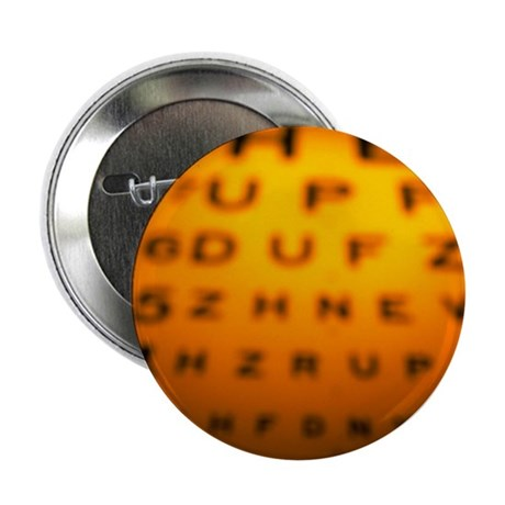 Blurred view of a Snellen eye test chart - 2.25' B