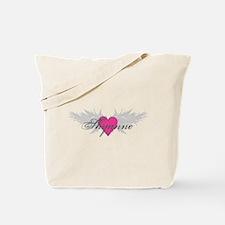 Shyanne-angel-wings.png Tote Bag