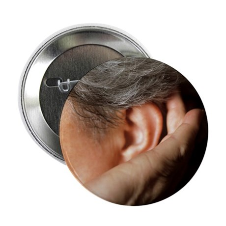Hearing loss - 2.25' Button (100 pack)