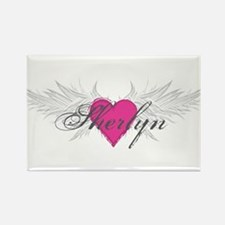Sherlyn-angel-wings.png Rectangle Magnet