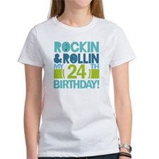 24th Birthday Rock and Roll Tee