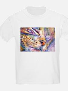 Sleeper Cat Kids T-Shirt